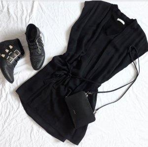 Samsøe & samsøe Robe courte noir soie