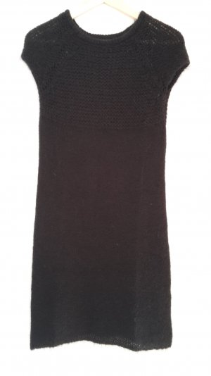 Kosmika Abito di maglia nero Mohair