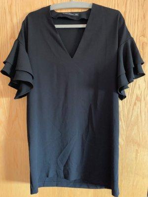 Schwarzes Minikleid von Zara