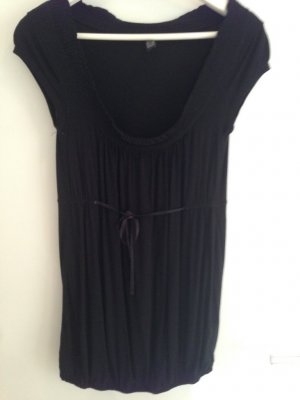 Only T-shirt noir viscose