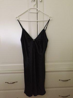Schwarzes Nachthemd S