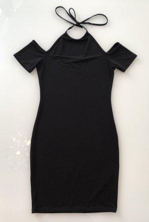Schwarzes NAKD Cut-out-Kleid