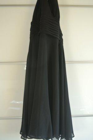 Halter Dress black synthetic fibre