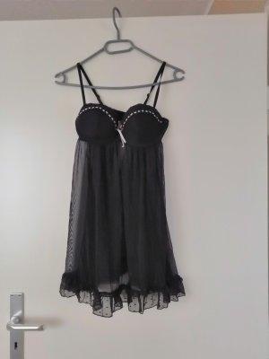 H&M Négligé noir-rose