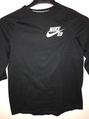 Schwarzes Nike Sporttop
