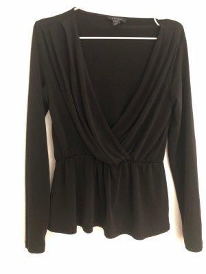 Amisu Long Sleeve Blouse black