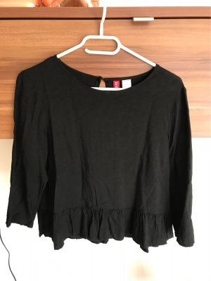 H&M Divided Camisa recortada negro