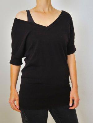 schwarzes Oberteil Pullover von H&M