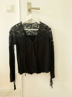 Forever 21 Lace Blouse black