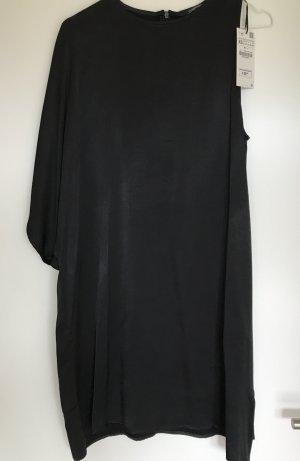 Schwarzes, One-Shoulder Dress von Zara - NEU