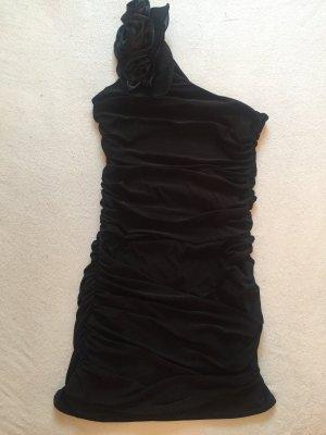 Eénschouderjurk zwart