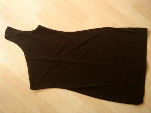 schwarzes One-Shoulder-Top Größe 36/38