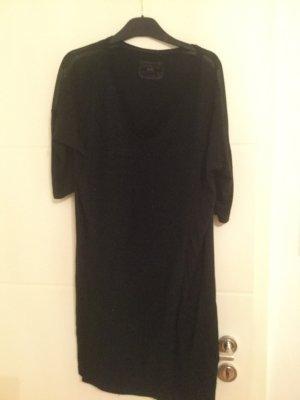 Schwarzes oversize Kleid/alles muss raus