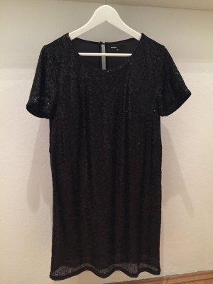 Schwarzes Pailletten Kleid von Minimum