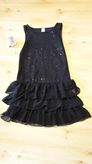 C&A Vestido de lentejuelas negro