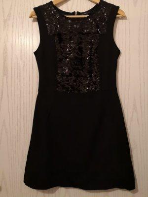 Schwarzes Paillettenkleid von Mango