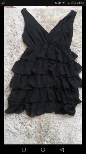 Schwarzes Partykleid