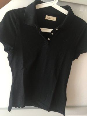 Schwarzes Polo-Shirt von Hollister