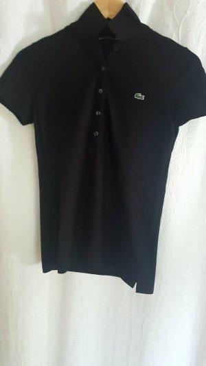 Schwarzes Polo-Shirt von Lacoste