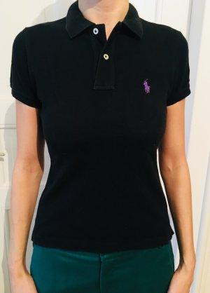 Schwarzes Poloshirt Ralph Lauren