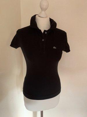 Schwarzes Poloshirt von Lacoste