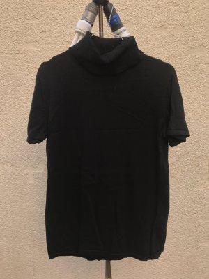 schwarzes Rollkragen T-Shirt vintage retro