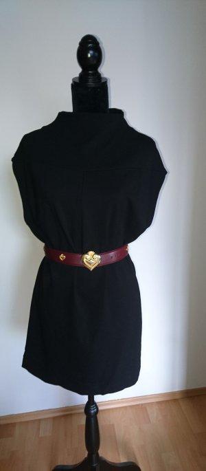 schwarzes Rollkragenkleid von Ixos Malloni