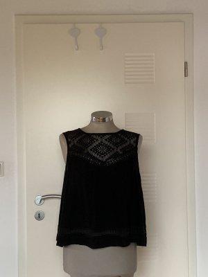 Zara Backless Top black
