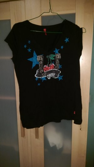 schwarzes S.Oliver shirt gr M