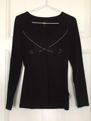Schwarzes Sansibar-Shirt