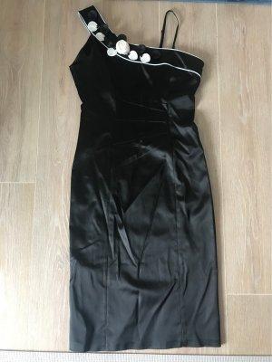 Schwarzes schickes Abendkleid