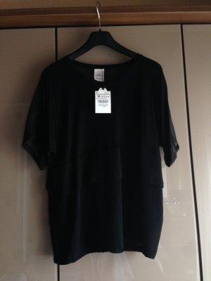 Schwarzes schickes Oberteil von Zara