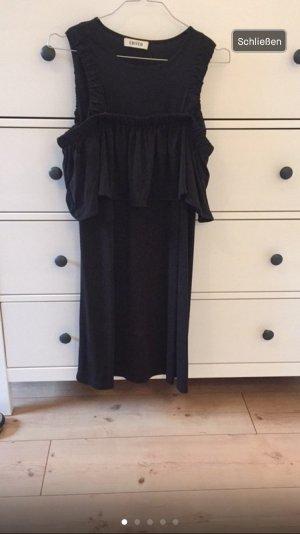 Schwarzes schulterfreies Kleid von EDITED