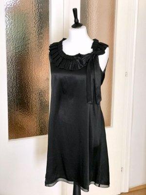 Armani Jeans A Line Dress black silk
