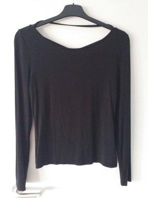 Even & Odd Camisa recortada negro