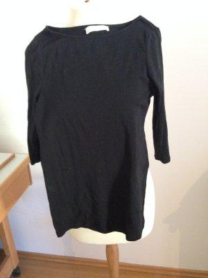 schwarzes Shirt 3/4 Arm, Zara, fast neu