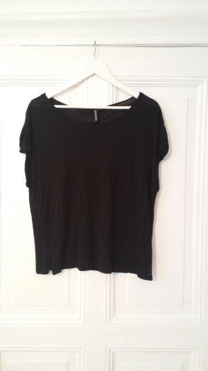 Schwarzes Shirt (36, geschätzte Größe!!)