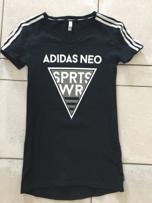 Adidas NEO Camisa negro-blanco