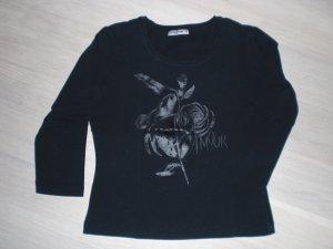 schwarzes Shirt *comma* M