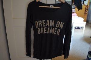 Schwarzes Shirt Gina Tricot XS