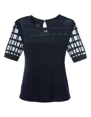schwarzes Shirt Gr.44 von Madeleine