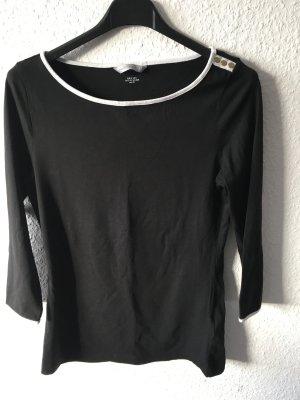 Schwarzes Shirt Größe 36