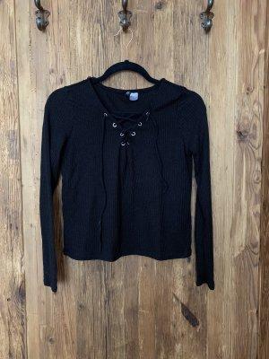 Schwarzes Shirt H&M