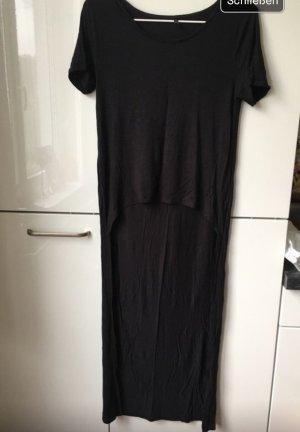 Schwarzes Shirt hinten länger in M
