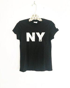 schwarzes shirt / t-shirt / top / roxy / edgy / casuel / sport / trainingsshirt