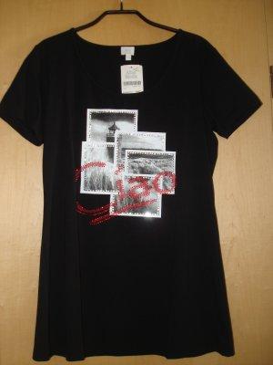 Schwarzes Shirt von ALBA MODA Gr. 40