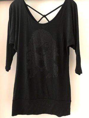Schwarzes Shirt von Hallhuber, Gr. 36