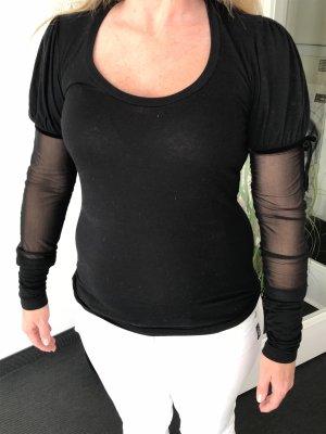 Schwarzes Shirt von High, Größe M,