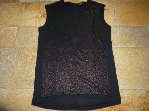 Schwarzes Shirt von iheart mit Leomuster