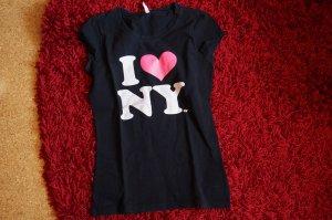 schwarzes Shirt von New Yorker